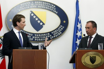 Nach Bosnien-Reise: Scharfe Kritik an Außenminister Kurz (Foto: Dragan Tatic)
