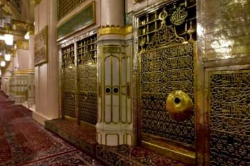 360-Grad-Rundgang beim Grabe des Propheten