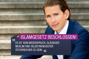 Islamgesetz beschlossen