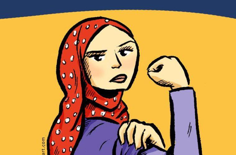 MJÖ-Protest gegen Kopftuchverbot