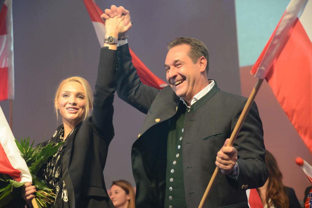 FPÖ beim Bundes-Wahlkampfauftakt